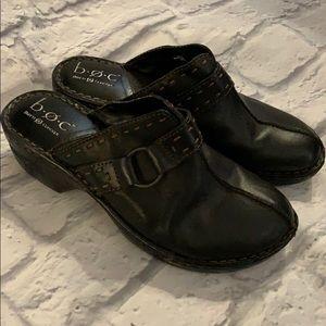 BOC black clogs size 9